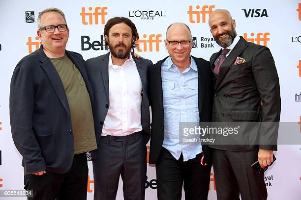 Head of Motion Picture Production for Amazon Studios Ted Hope actor Casey Affleck Head of Marketing and Distribution at Amazon Studios Bob Berney and...