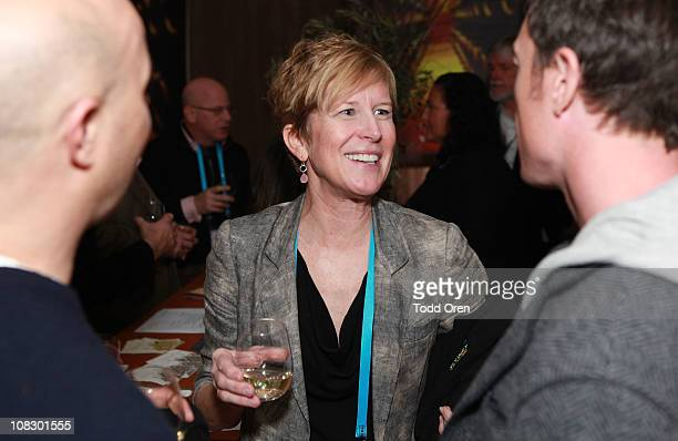 Head of Napa Valley Film Festival Brenda Lhorme attends the Napa Valley Film Festival Launch Celebration at the Sundance House during the 2011...