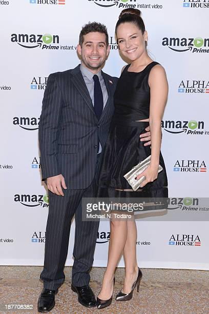 Head of Oginal Programming at Amazon Studios Joe Lewis and actress Yara Martinez attends Amazon Studios Premiere Screening for 'Alpha House' on...