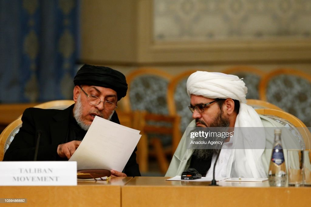 Moscow conference on Afghanistan kicks off in Moscow : News Photo
