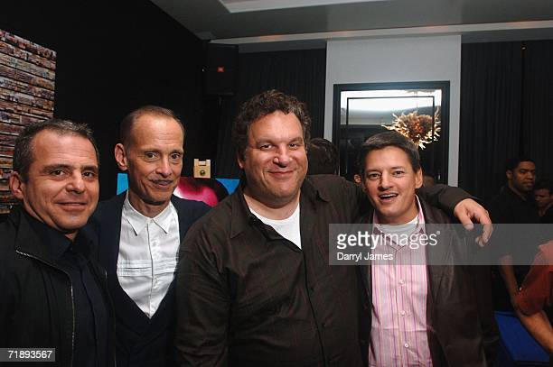 Head of Red Envelope Entertainment Bahman Naraghi filmmaker John Waters director Jeff Garlin and chief content advisor for Netflix Ted Sarandos...
