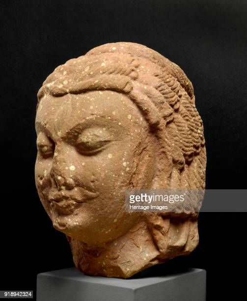 Head of Shiva early 5th century Dimensions height x width x depth 305 x 19 x 27 cm max