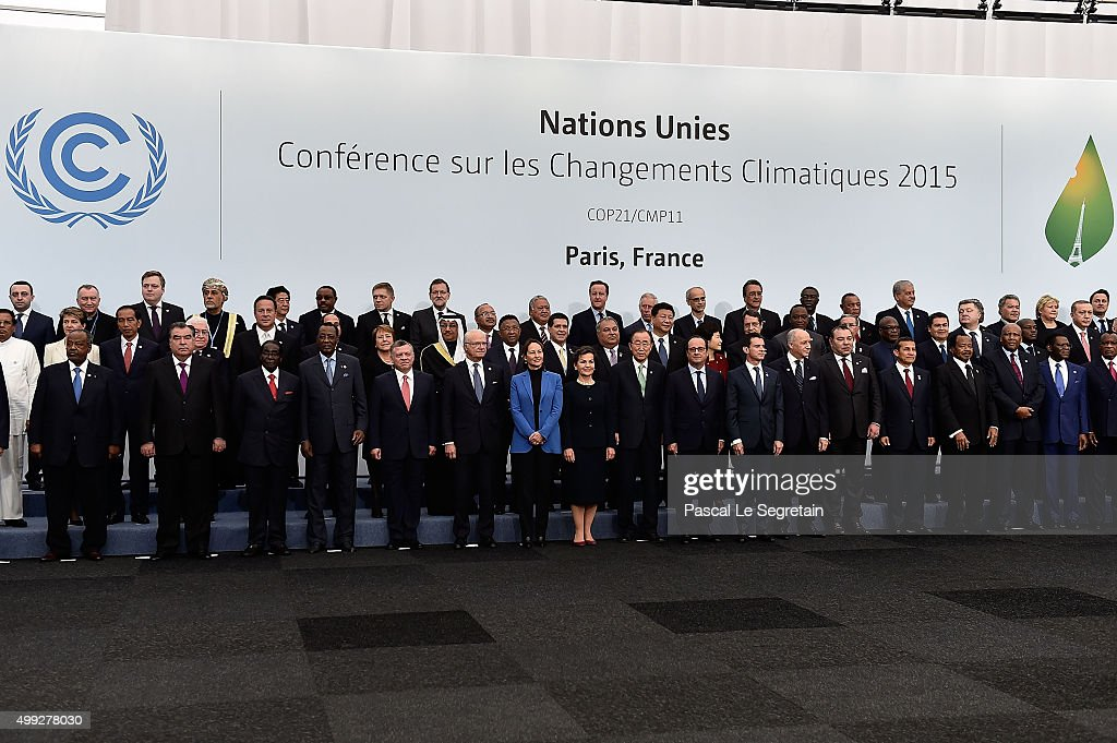 21st Session Of Conference On Climate Change COP21 Opens At Le Bourget : News Photo