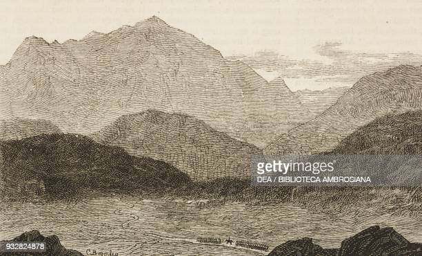 Head of the Bolan Pass Pakistan Second AngloAfghan War illustration from the magazine The Graphic volume XVIII no 472 December 14 1878