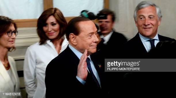 "Head of the Chamber of Deputies ""Forza Italia"" parliamentary group Mariastella Gelmini, Head of the Senate ""Forza Italia"" parliamentary group Anna..."