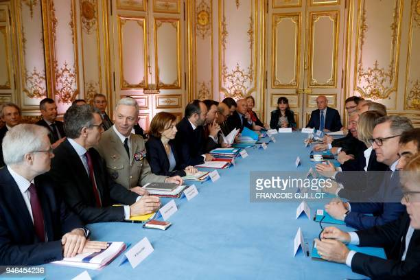 TOPSHOT Head of the DirectorateGeneral for External Security French intelligence agency Bernard Emie Secretary General of French government Marc...