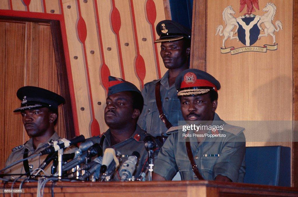 Nigerian Military Leaders : News Photo