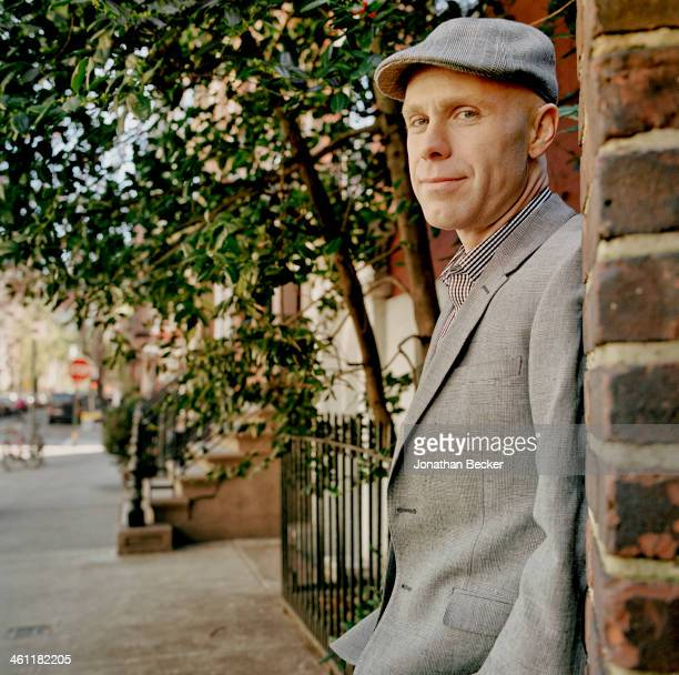 Head of the Greenwich Village Society for Historic Preservation, Andrew Berman is photographed for Vanity Fair Magazine on April 6, 2012 in New York...