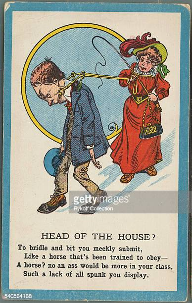 Head of the House To bridle and bit you meekly submit Like a horse that's been trained to obey A horse no an ass would be more in your class Such a...