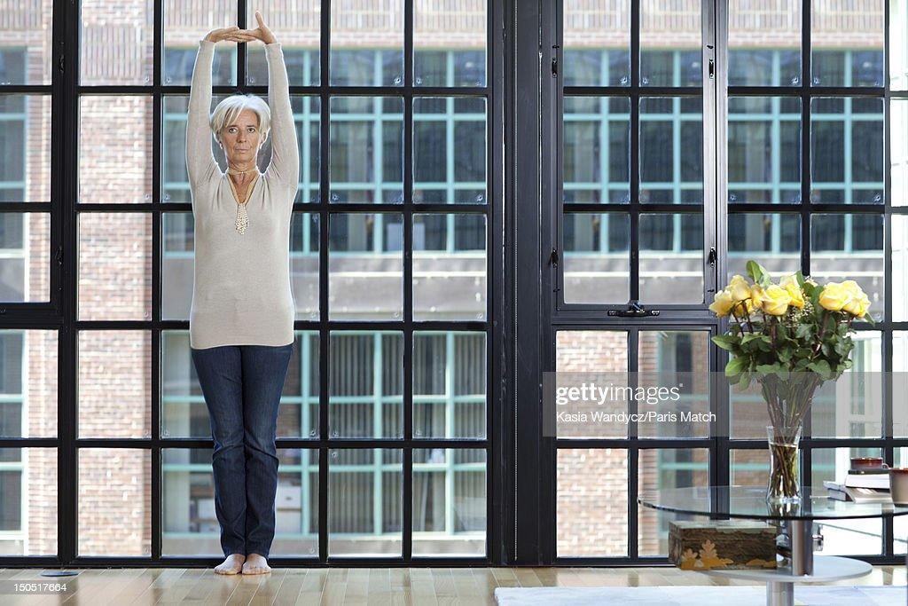 Christine Lagarde, Paris Match, Issue 3300 : News Photo