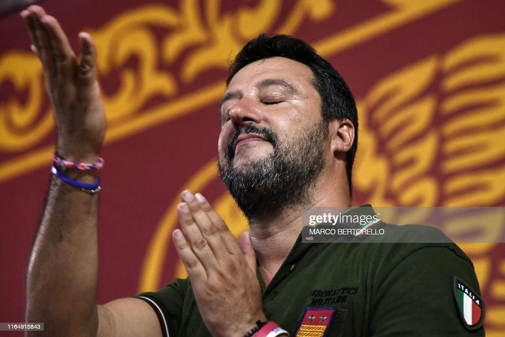 ITALY-POLITICS : Foto di attualità