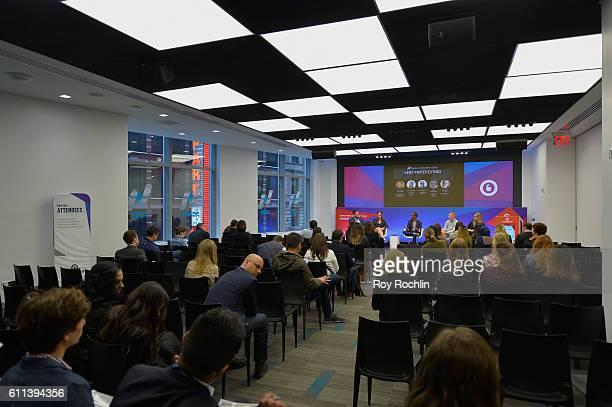 Head of the Marketing Developer Program Pinterest Michael Akkerman VP of Strategic Accounts Adaptly Ruth Arber Social Media Editor Mashable MJ...