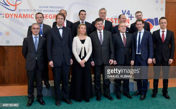 Head of The Regional Cooperation Council Goran Svilanovic, Deputy for the Czech Foreign Minister Petr Drulak, European High Representative for...