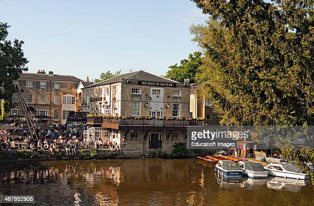 Head of the River Pub at the banks of the River Thames in Oxford