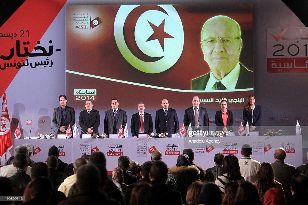 Tunisian presidential election : Nieuwsfoto's