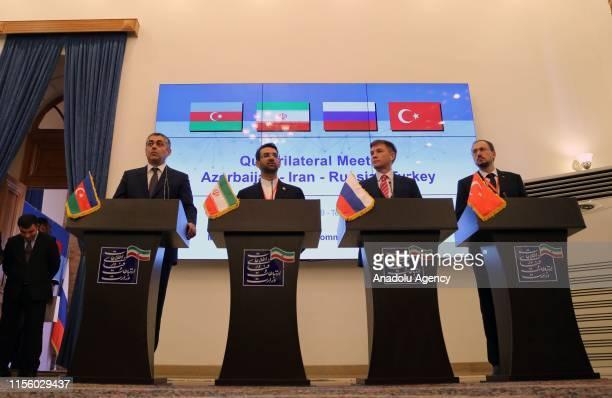 Head of Turkey's Information and Communication Technologies Authority Omer Abdullah Karagozoglu Minister of Digital Development Communications and...