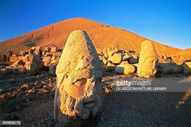 Head of ZeusOromasdes tomb of King Antioch I of Commagene West Terrace Nemrut Dagi Turkey Hellenistic civilisation 1st century BC