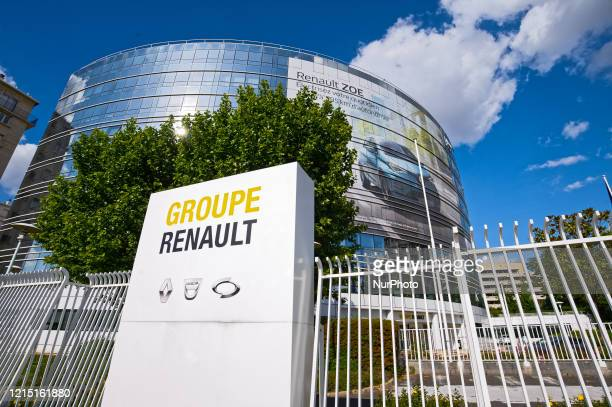 Head office of the French Group Renault where the management prepares a contingency plan for the industrial restructuring, on May 25 in...