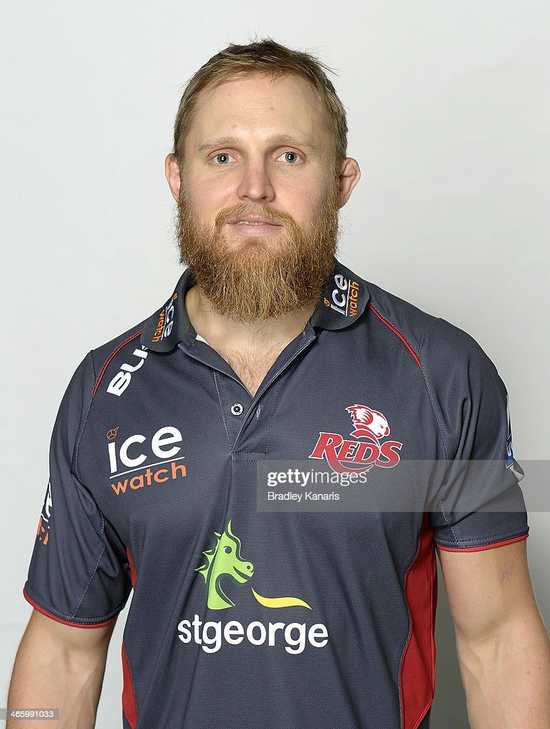 Queensland Reds Headshots Session : News Photo