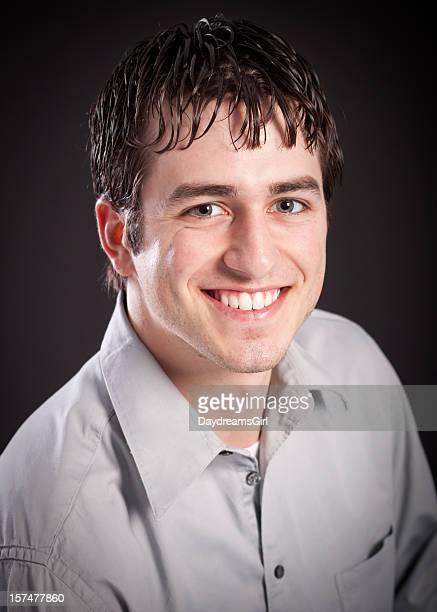 Head Shot of Attractive Man