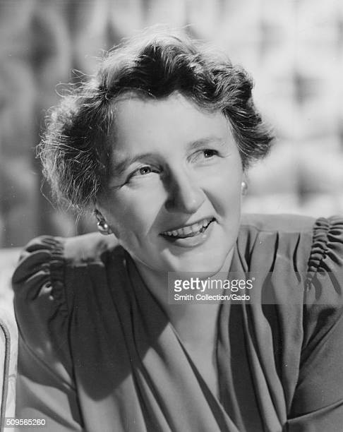 Head shot of Marjorie Main an American actress known for being a contract player for MetroGoldwynMayer 1932