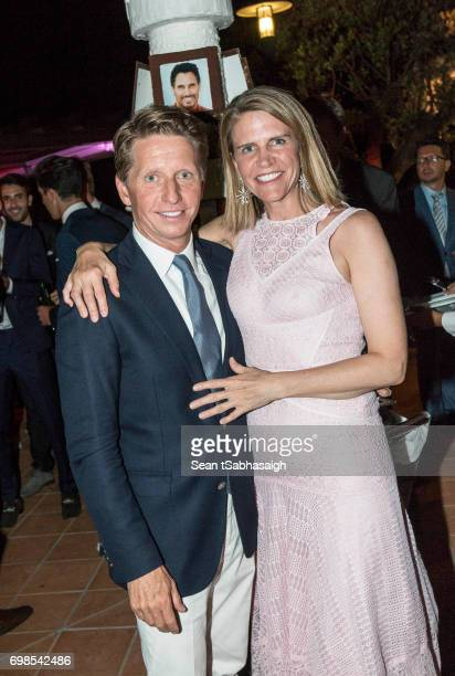 Head Writer and Executive Producer Bradley Bell and wife Ambassador Colleen Bell attend the 'The Bold and The Beautiful' 30th Years anniversary...