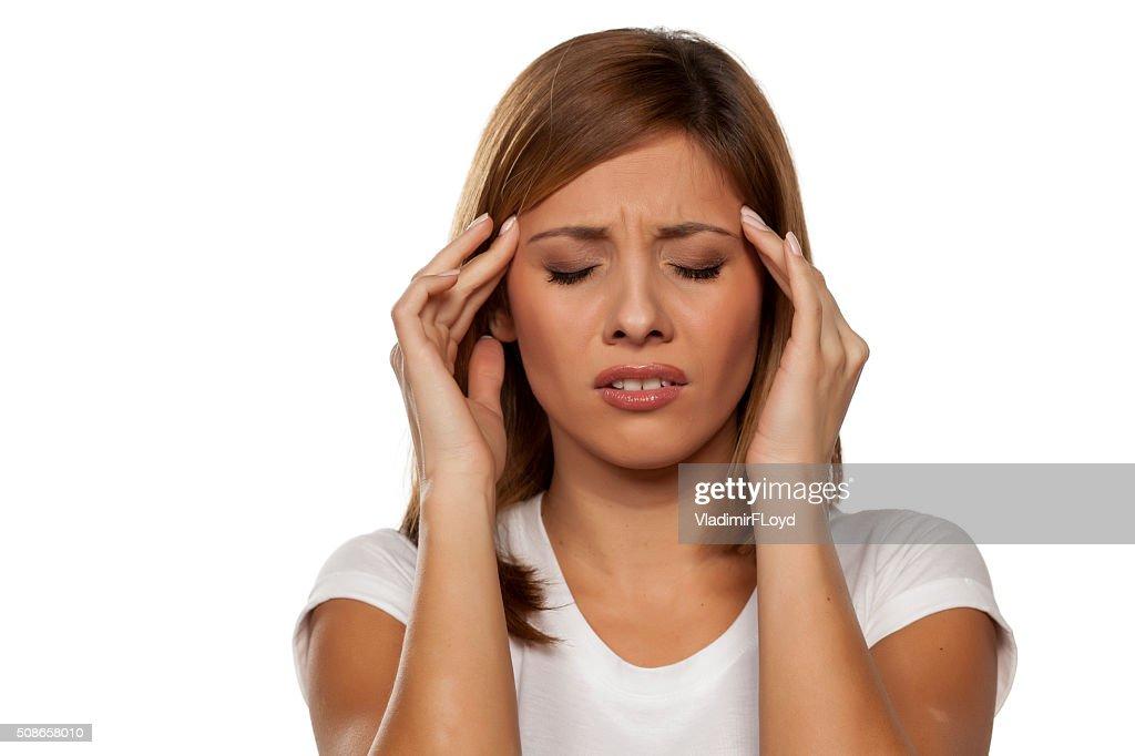 headache : Stock Photo