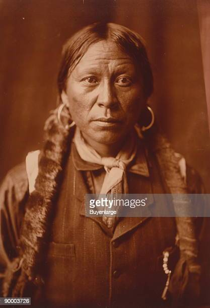 Headandshoulders portrait of a Jicarilla man