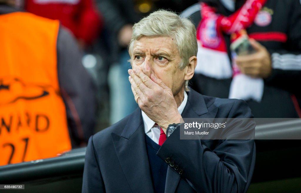 FC Bayern Muenchen v Arsenal FC - UEFA Champions League Round of 16: First Leg : News Photo