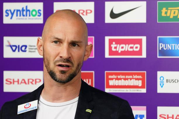 AUT: FK Austria Wien v TSV Prolactal Hartberg - Europe League-Play-off