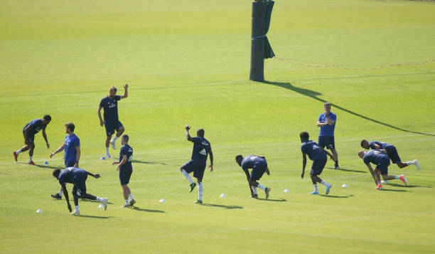 DEU: Hamburger SV Training Session