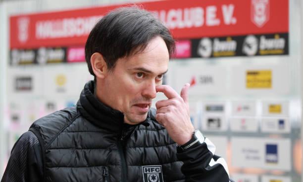 DEU: Hallescher FC v 1. FC Magdeburg - 3. Liga
