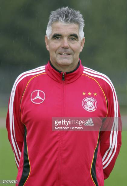 Headcoach Frank Engel poses during the Men's U19 photocall on October 3 2006 in Niederrad Germany