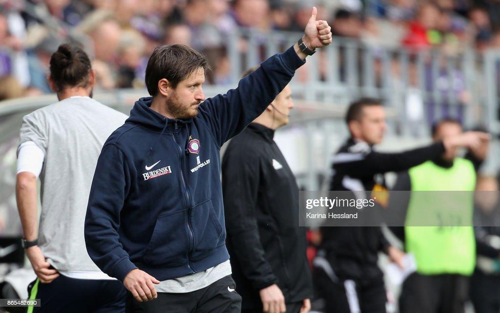 FC Erzgebirge Aue v SSV Jahn Regensburg - Second Bundesliga : News Photo