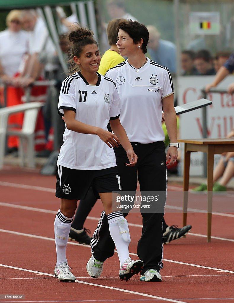 Germany v Belgium - U21 : News Photo