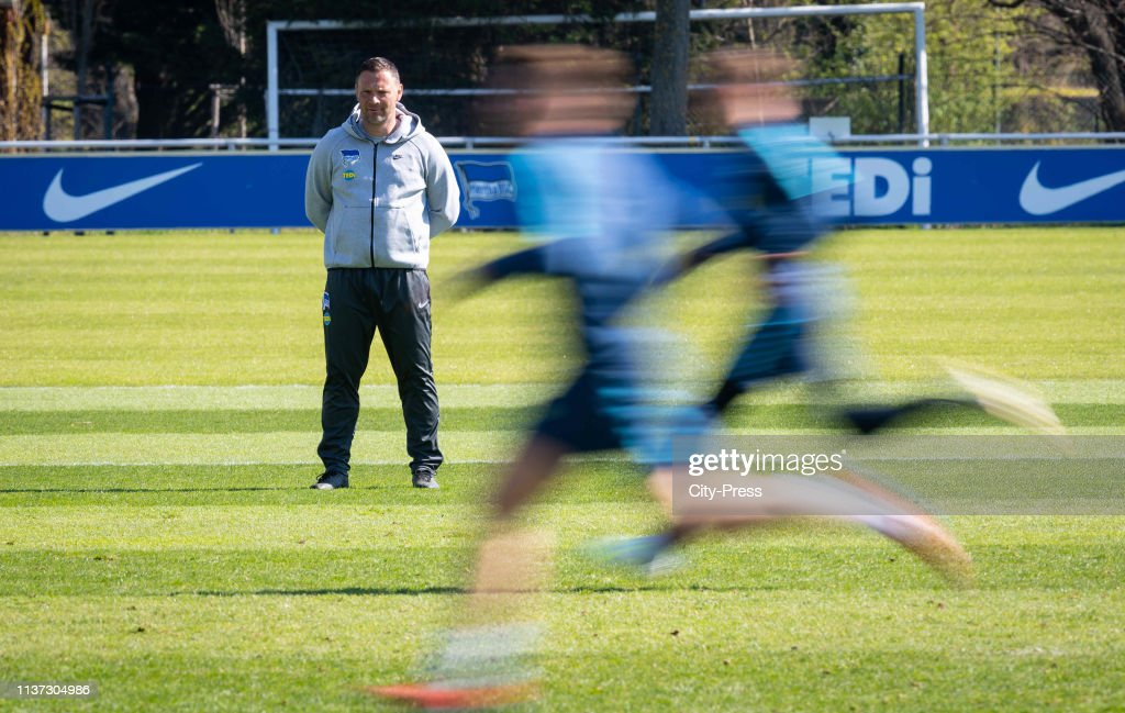 Hertha BSC Training Session : News Photo