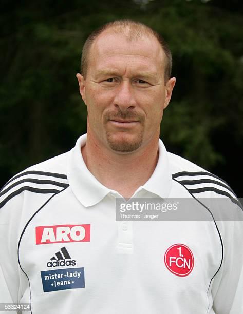 Headcoach Wolfgang Wolf during the Team Presentation of 1 FC Nuremberg for the Bundesliga Season 2005 2006 on July 1 2005 in Bad Woerishofen Germany