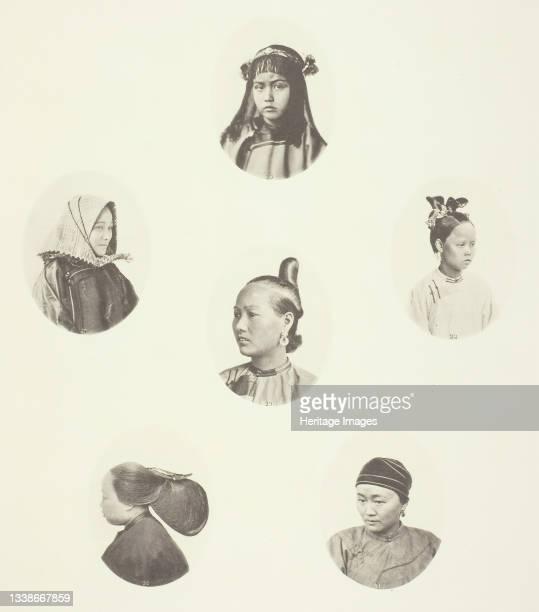 Headdress of Cantonese Girl; Winter Headdress; Coiffure of Swatow Woman; Coiffure of Swatow Woman; Coiffure of Ningpo Woman; Coiffure of Shanghai...