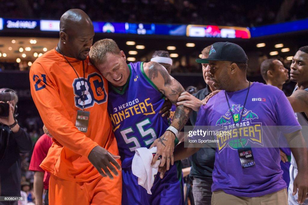 BASKETBALL: JUN 25 Big3 Basketball Brooklyn