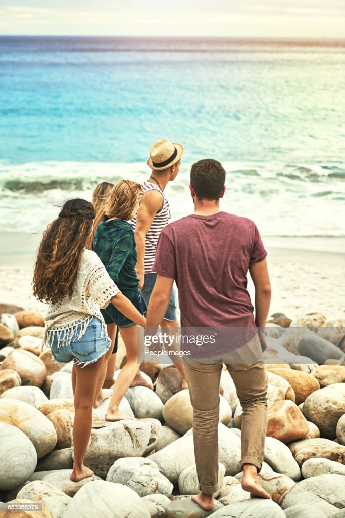 Headed to the water : Stock Photo
