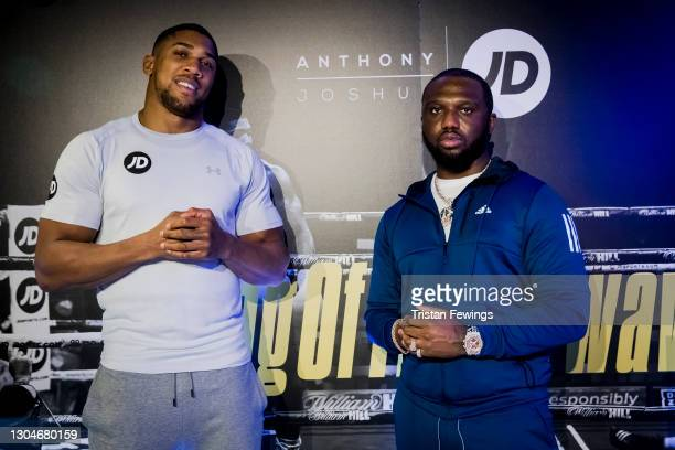 Headie One attends as JD's Anthony Joshua hosts his #KingOfTheAirwaves radio show live on TikTok with a host of special guests including Munya...