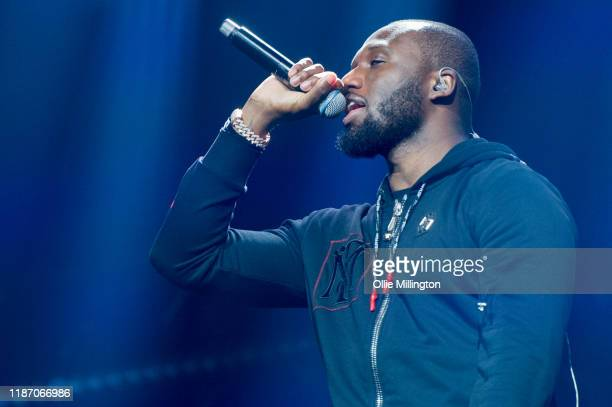 Headie One performs at O2 Academy Brixton on November 11, 2019 in London, England.