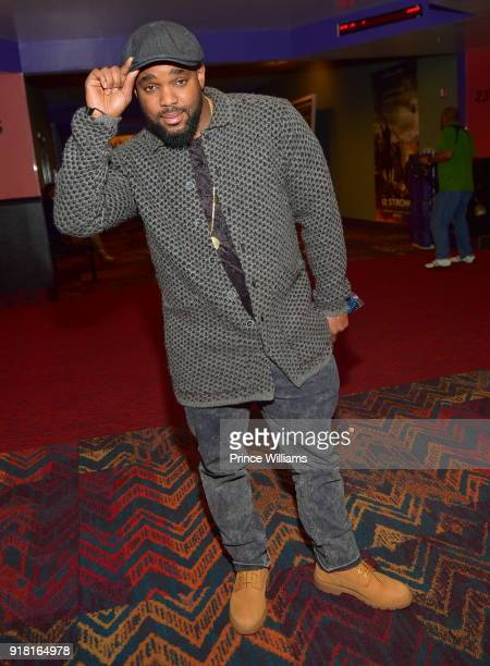 Headkrack attends 'Black Panther' Advance Screeing at Regal Hollywood on February 13 2018 in Chamblee Georgia
