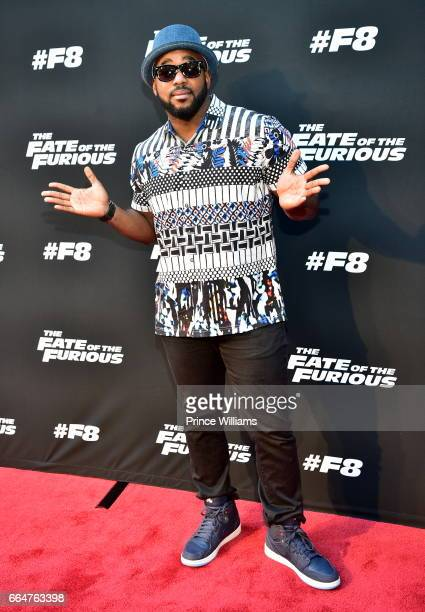 Headkrack attends the Fate Of The Furious Atlanta Screening at SCAD Show on April 4 2017 in Atlanta Georgia