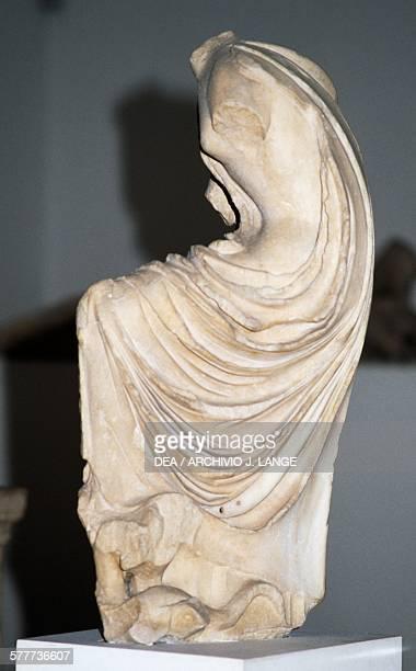 Headless statue of Hygeia 380370 BC found in Epidaurus Greece Greek civilisation 4th century BC Athens Ethnikó Arheologikó Moussío