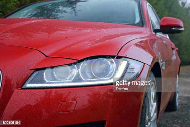 headlight in a modern car - cats premiere stock pictures, royalty-free photos & images