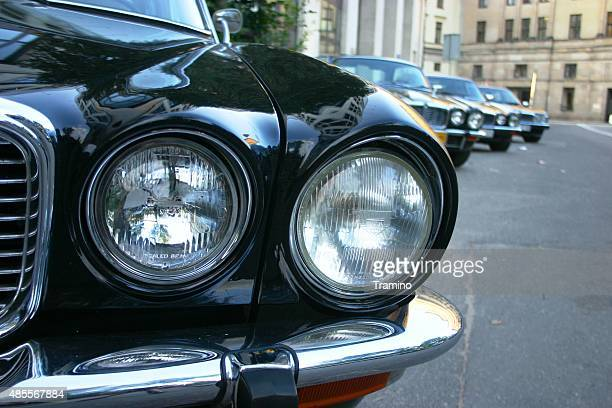 Scheinwerfer in klassischen Jaguar