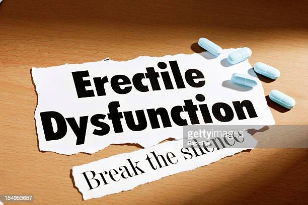 Headline about erectile dysfunction and some of those blue pills
