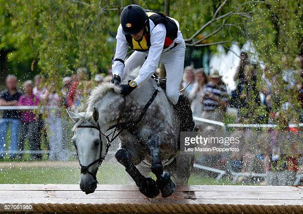 Olympics EquestrianEventing Individual Cross Country Marc Rigouts BEL riding Dunkas