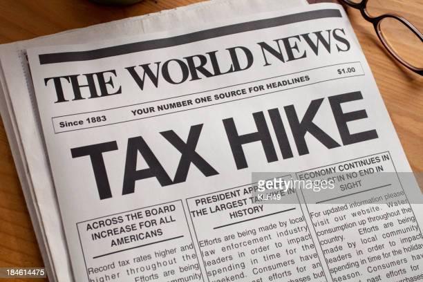 TAX HIKE Headline